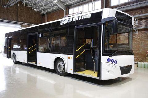 اتوبوس برقی داخلی «شتاب» رونمایی شد
